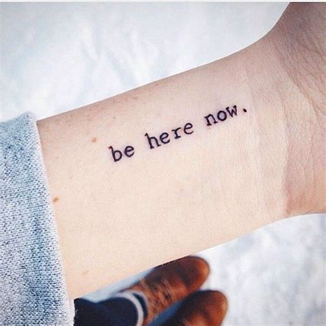 small quote tattoo best 25 small quote tattoos ideas on