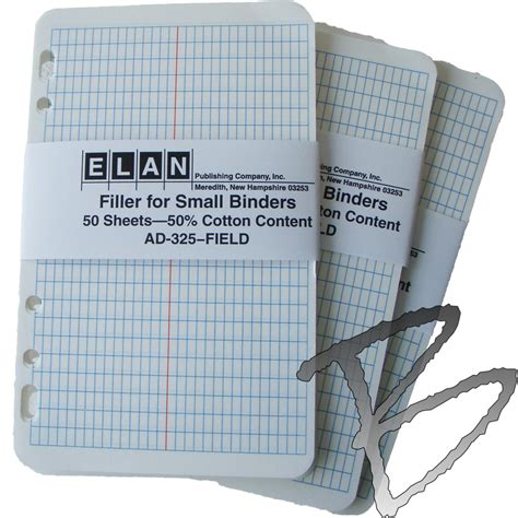 survey field book template elan mini field book filler sheets engineering