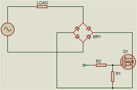 triac pull resistor tahmid s controlling an ac load with a mosfet
