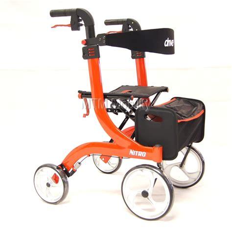 drive nitro rollator four wheeled walking aids swindon new nitro rollator in