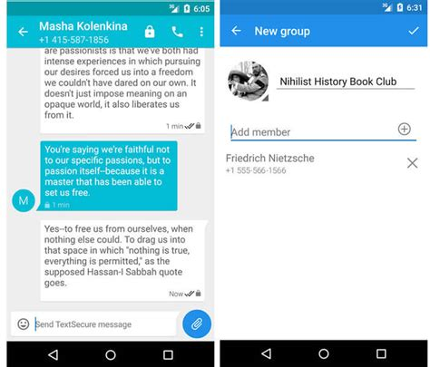 comment crypter ses messages sous android