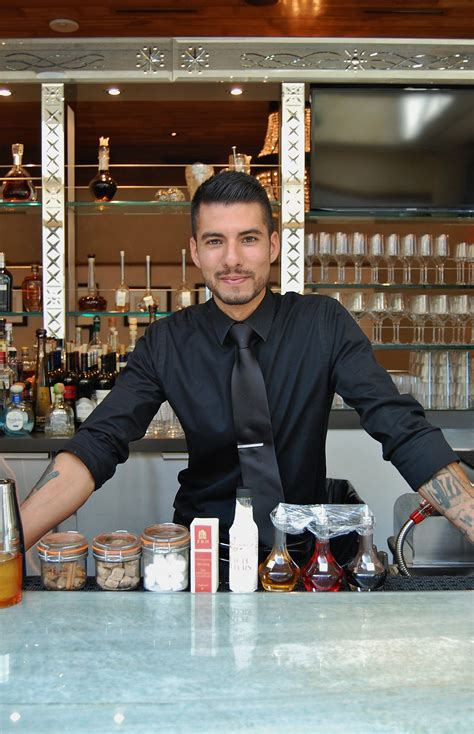 the roger room bar manager aaron alvarez s go to hang out