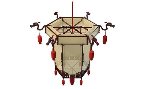 chinese lantern light fixture chinese lantern light fixture 3d model 3ds max files free