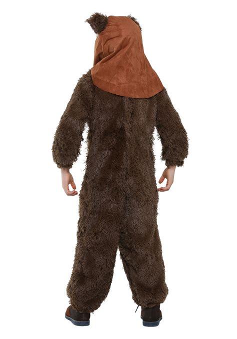 ewok costume child deluxe wicket ewok costume