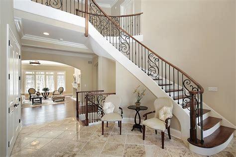 Foyer Staircase 45 Custom Luxury Foyer Interior Designs