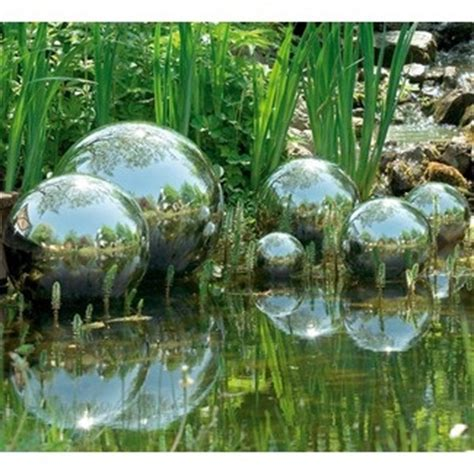 28 best images about silver balls on pinterest gardens entrance doors and rain barrels
