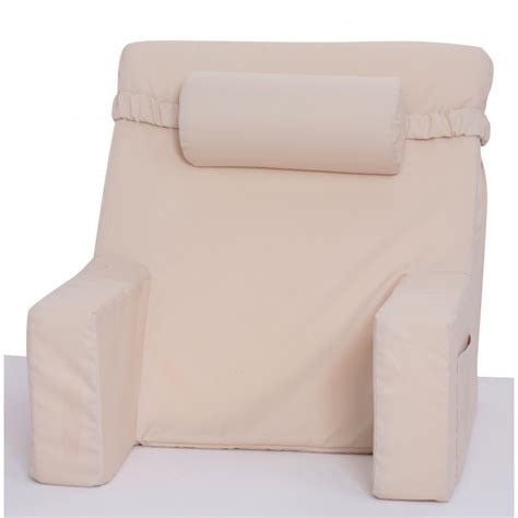 bed pillow chair bed lounger with cervical roll relax in bed chair bedrest brentwood bedrest brentwood