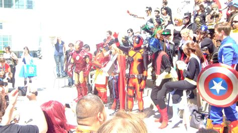 anime expo 2012 marvel vs dc gathering 12 by coolpizza16