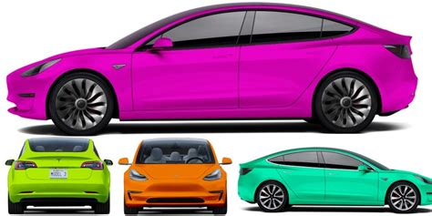 model 3 colors tesla model 3 colors 3rd party configurator gives you