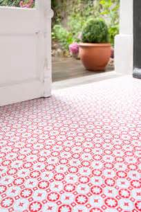 rose des vents red vinyl flooring retro floor tiles for