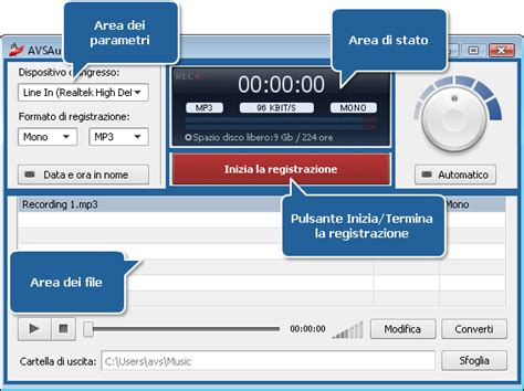 elenco basi karaoke in formato basi karaoke audio recorder registratore di audio mp3