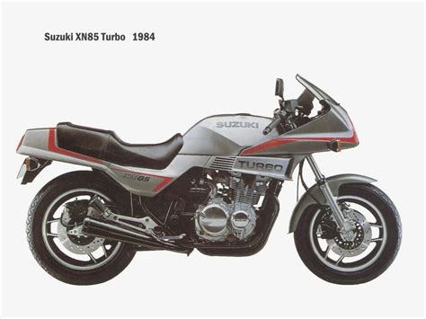 Suzuki Turbo Suzuki Xn85 Turbo Road Test Motorcycles Catalog With