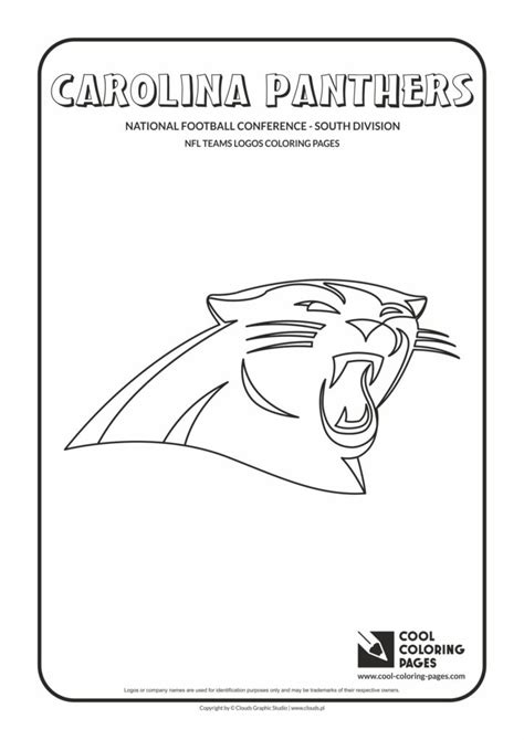 carolina panthers coloring pages cool coloring pages carolina panthers nfl american