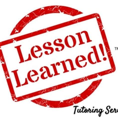 Lessons Learned Clipart lesson learned tutoring services tutors 4554 crabapple dr ta bay fl phone