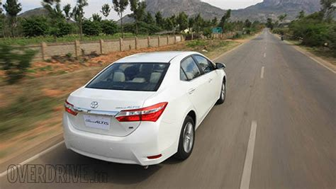 Toyota Corolla Rate In India 2014 Toyota Corolla Altis India Drive Overdrive