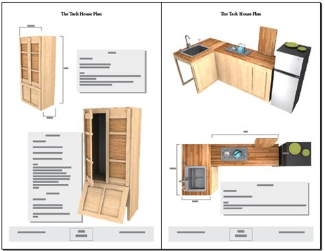 Cabin Blueprints Free by Tiny Tack House Plans The Tiny Tack House
