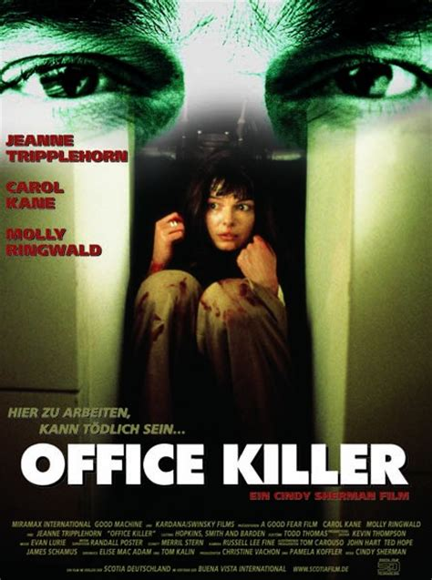 Plakat Filmu Kiler by Filmplakat Office Killer 1997 Filmposter Archiv