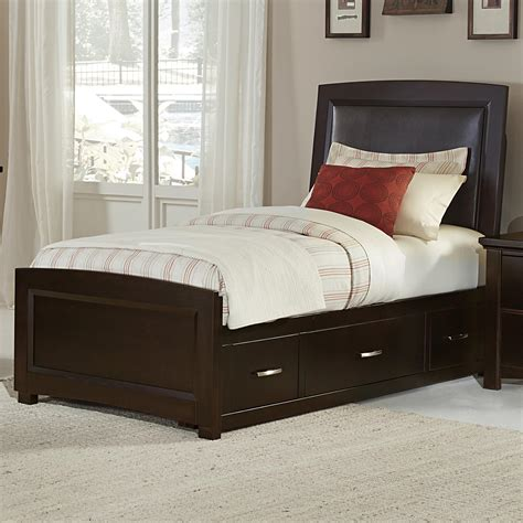bassett upholstered beds vaughan bassett transitions twin upholstered bed