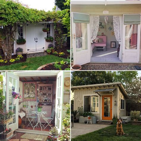 She Sheds | she shed inspiration popsugar home