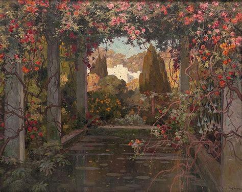 toile de jardin eug 232 ne fran 231 ois adolphe deshayes works on sale at auction biography invaluable