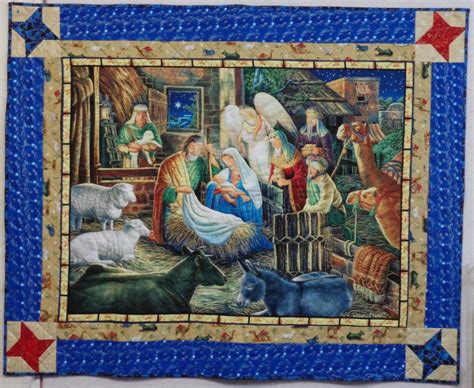 quilt pattern nativity scene nativity scene wall hanging quilting treasures approx 51