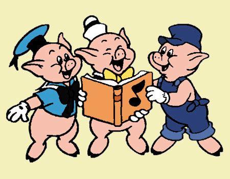 imagenes felices los tres los tres cerditos cuento cl 225 sico 174 chiquipedia com