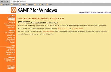 tutorial membuat blog di localhost menggunakan xp tutorial membuat database menggunakan php myadmin pada