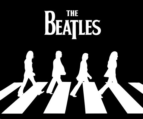 The Beatles Black Logo the beatles logos related keywords suggestions the