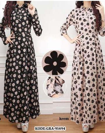 Best Seller Gamis Maxi Overall Kancing Rok Panjang Dress Soft gamis arrastore shoping