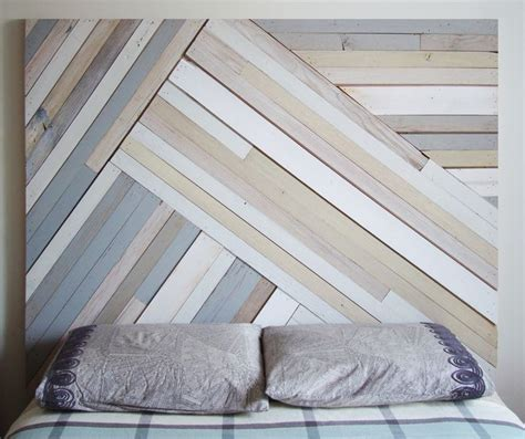 painted wood headboard reclaimed wood painted headboard home pinterest