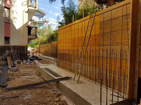 muro di sostegno a mensola progetti studio tecnico pasquini