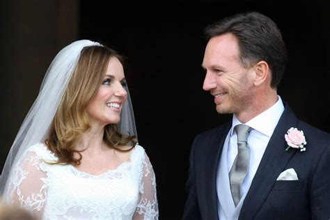 Geri Halliwell marries Christian Horner in conservative