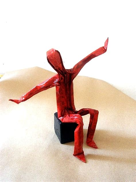 Origami Human Figure - the origami forum view topic human figures