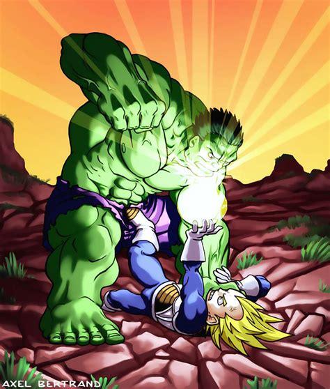 imagenes de goku vs hulk hulk fan art hulk vs vegeta by shadowstheater