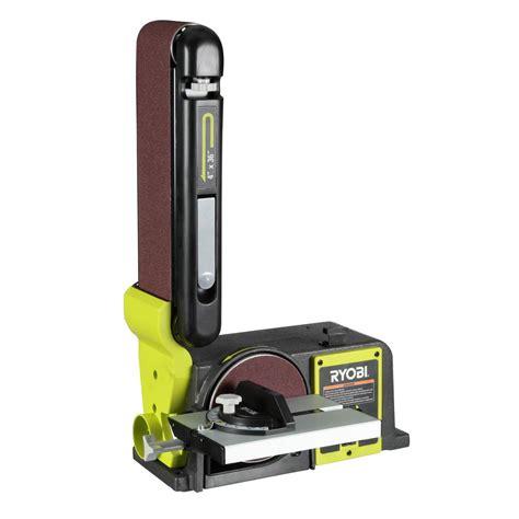 ryobi bench sander new ryobi 120 volt bench sander green bd4601g belt power