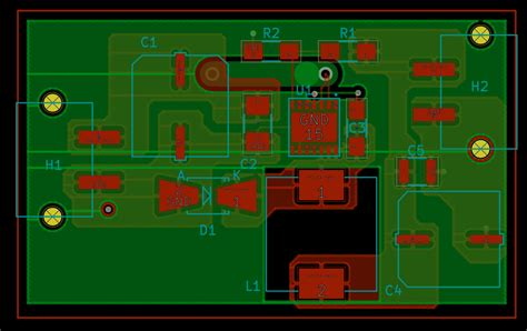 pcb layout engineer pcb layout and trace widths for buck converter