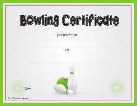 bowling certificate template free bowling certificate template for pdf