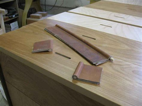 Make Drawer Pulls by Shop Made Leather Drawer Pulls Popular Woodworking Magazine