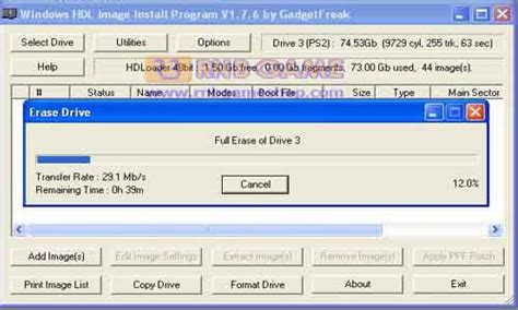 Converter Hardisk Ps2 software ps 2 hardisk ogtechs