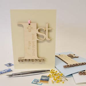 Holy Communion Cards And Gifts - christening cards notonthehighstreet com