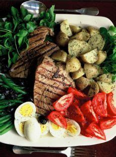 ina garten nicoise grilled tuna tuna and barefoot contessa on