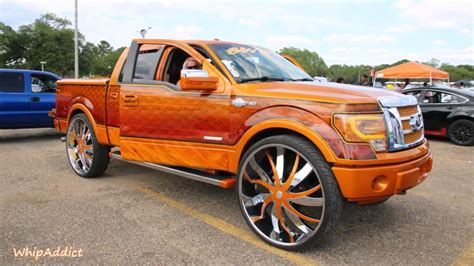 custom ford f150 whipaddict kandy ford f150 on 34 quot wheels custom
