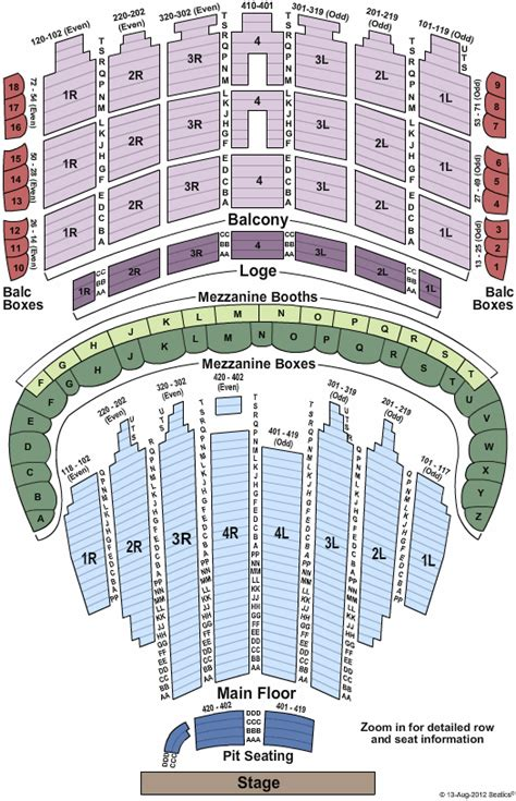 kevin hart tickets seating chart the chicago theatre
