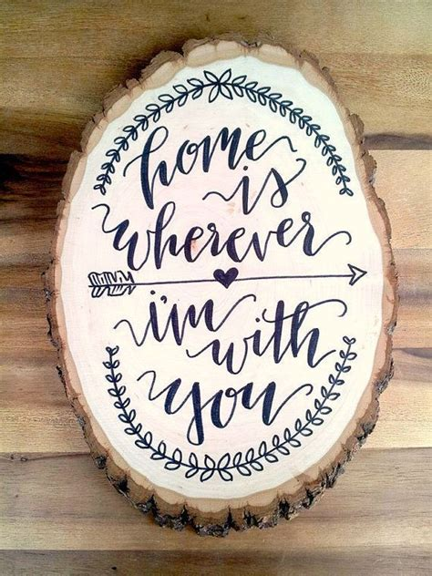Wedding Anniversary Mass Songs by Wood Slice Lettered Wall Hanging Wedding