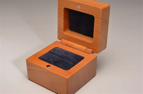 Handmade Box - handmade wedding or engagement ring box