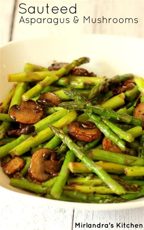 Forward Side Sauted Asparagus With Pancetta by Sauteed Asparagus And Mushrooms Recipe Easter Recipes