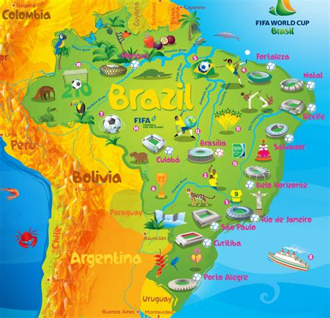 map of brazil cities map of fortaleza brazil