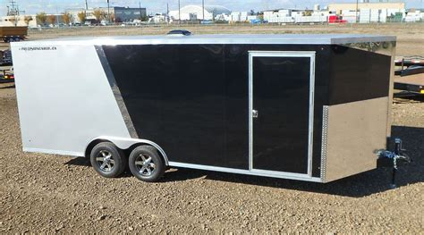 wide enclosed trailer double  trailers
