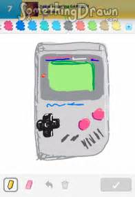 Guess G 3716 somethingdrawn gameboy by shakes on draw something