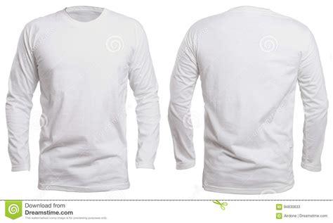 Kaos Panjang Longsleeve Nmax white sleeve shirt mock up stock image image 94830633
